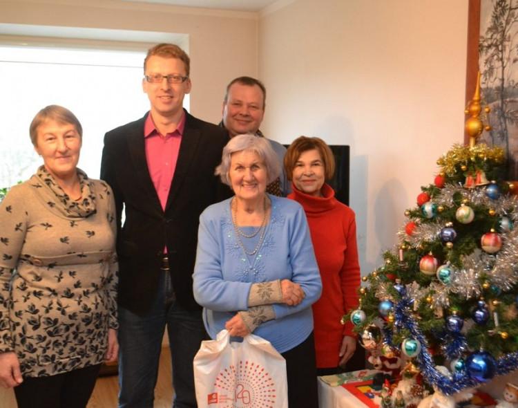 Kauno mieste aplankyti vieniši senjorai