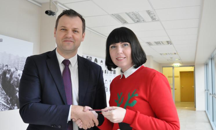 Parlamentarė D. Šakalienė tapo LSDP nare