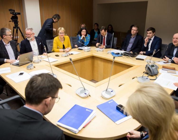 Socialdemokratų frakcijoje – aplinkos ministras K. Mažeika