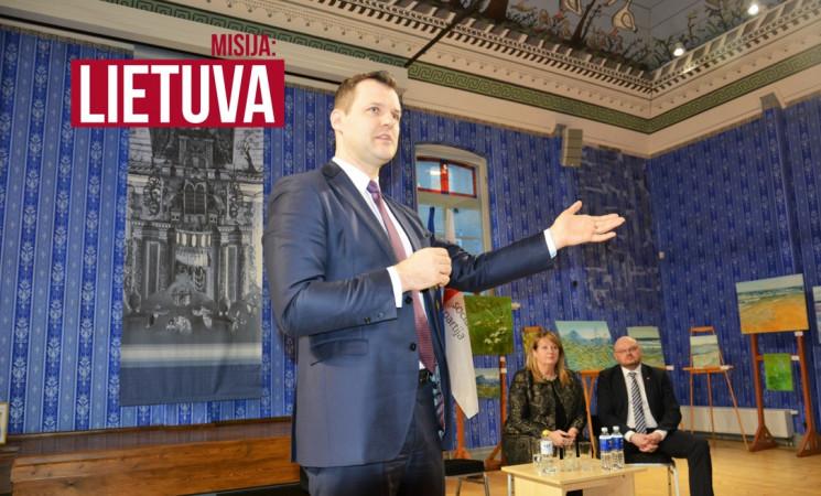 Misija: Lietuva. G. Paluckas ir V. Blinkevičiūtė kyla į misiją dėl algų ir mokesčių