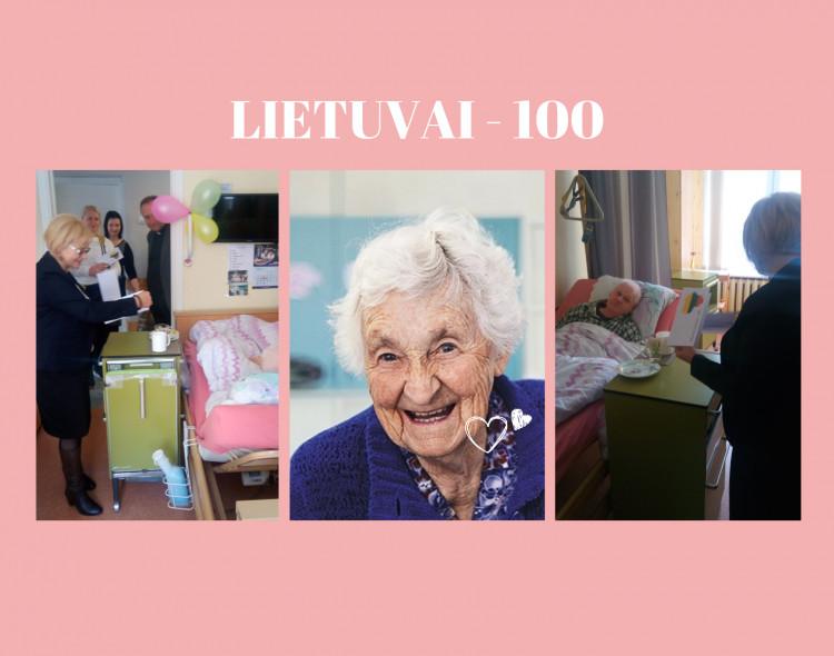 Klaipėdos socialdemokratai su valstybės 100-mečiu sveikino gimusius tarpukario Lietuvoje