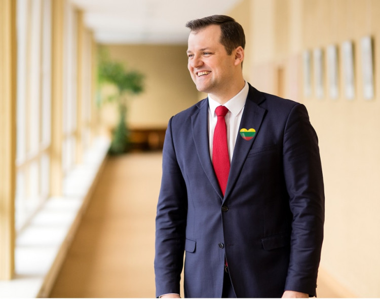 Gintautas Paluckas: sveikinu visus Lietuvai perkopus 100 metų slenkstį