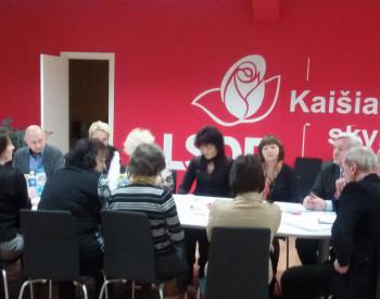 Balsavimas dėl kandidato į Kaišiadorių rajono merus (I balsavimo diena)