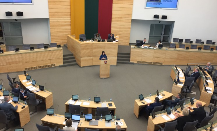 Seime po protestų – pagaliau istorinė diskusija
