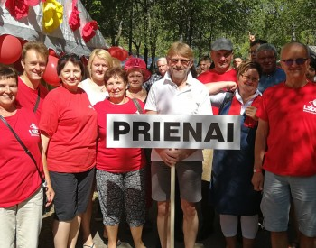 LSDP Prienų sk. rinkimų štabo posėdis