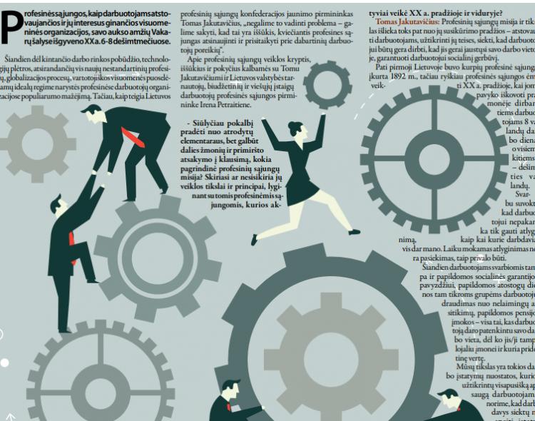 Profesinės sąjungos keičiasi: ko tikėtis dirbantiesiems?