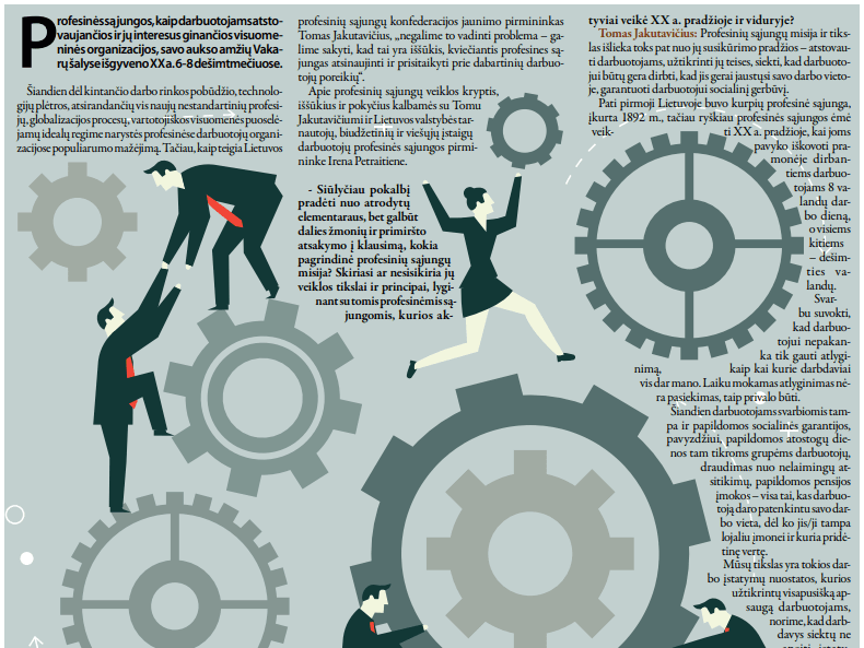 profesinės sąjungos sistema