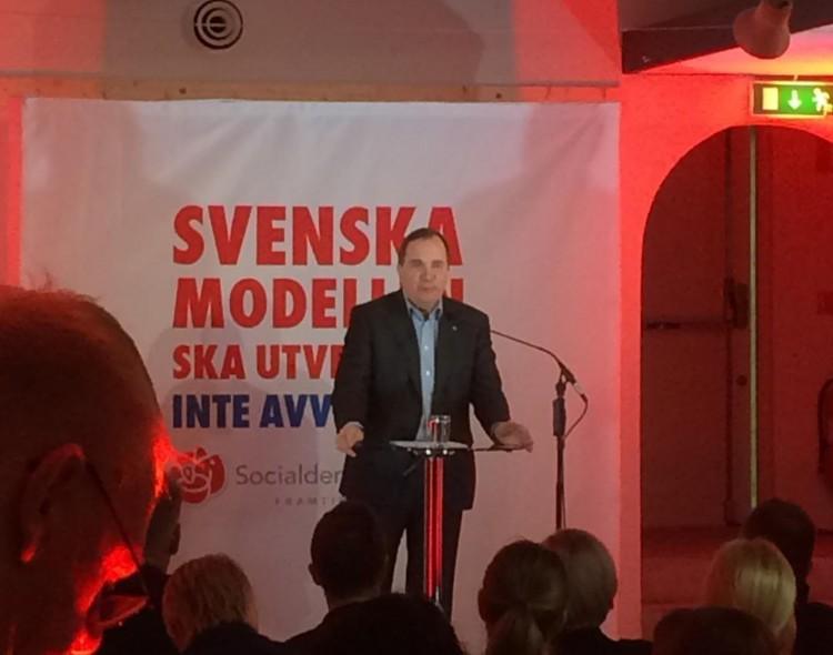LSDP sveikina Švedijos socialdemokratus su pergale rinkimuose