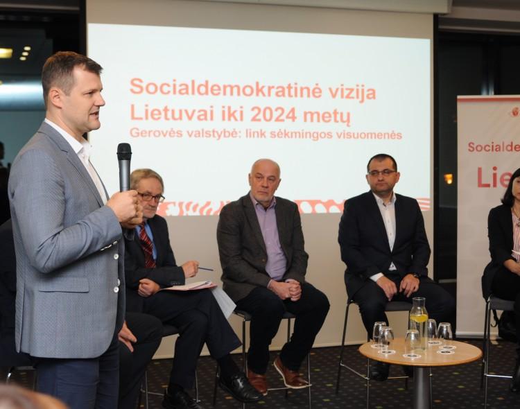 Antrasis Socialdemokratinės vizijos svarstymas: ką daryti, kad taptume sėkminga visuomene