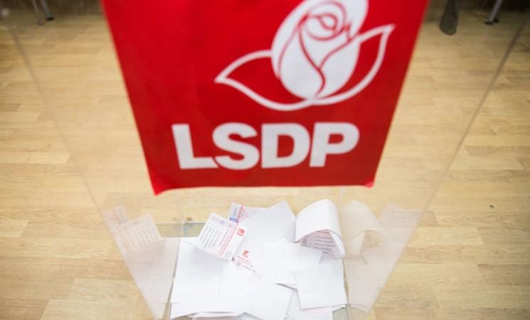 Socialdemokratai partijos pirmininką kitąmet rinks tiesiogiai