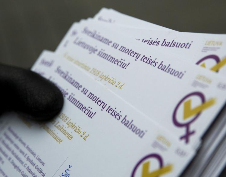 M. Jankauskaitė: prieš 100 metų moterys iškovojo demokratiją visai Lietuvai