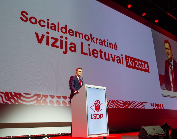Socialdemokratai patvirtino Viziją iki 2024 metų: tai – kairioji alternatyva Lietuvai