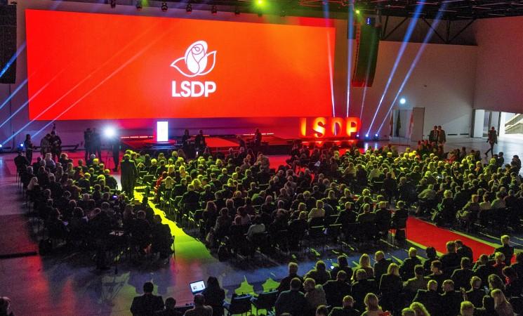 LSDP Šiaulių miesto skyrius visuomenei pristato rinkimų sąrašą ir programą