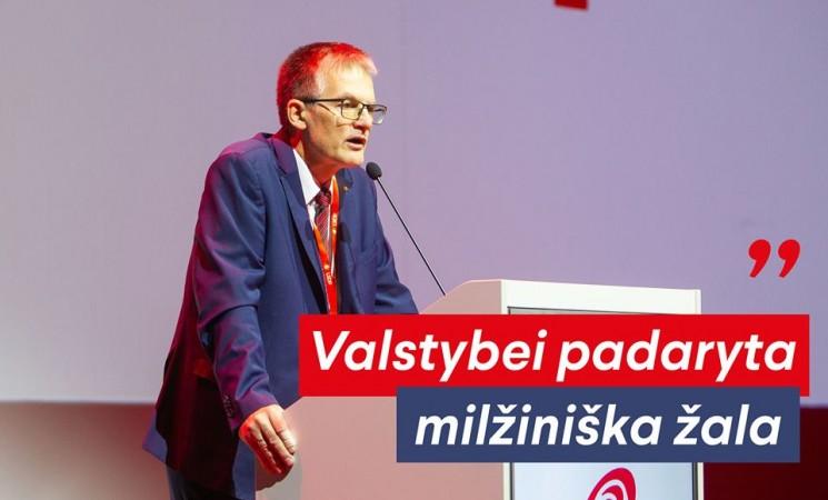 J. Sabatauskas:  įtarimai atrodo baisiai – priiminėjo sprendimus, kad papildytų kišenes