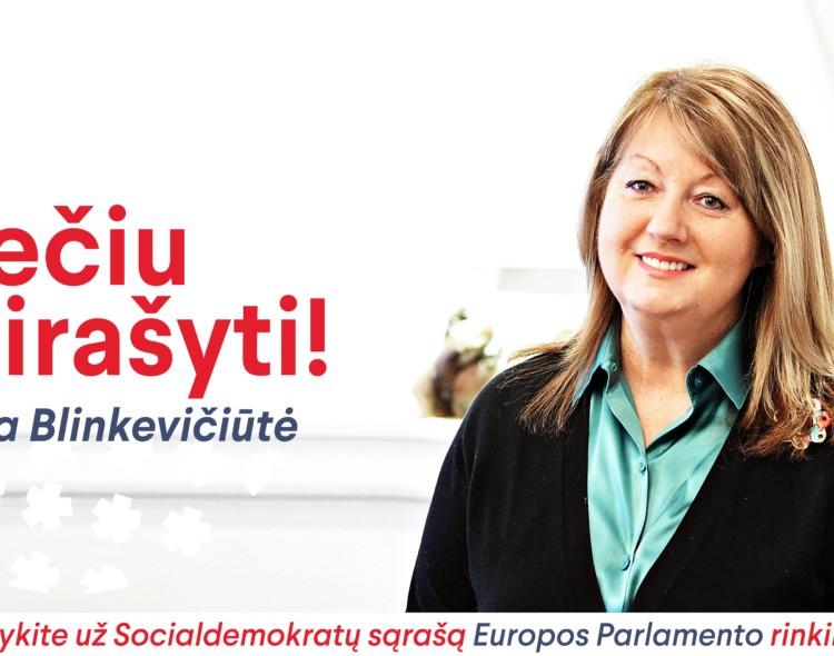 Pasirašyk už socialdemokratus!