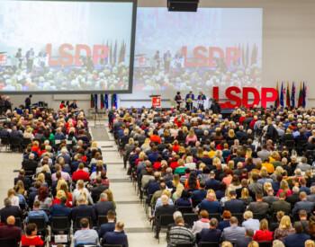 LSDP tarybos posėdis