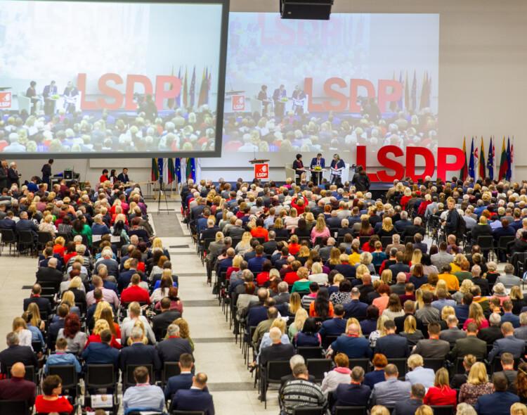 Socialdemokratai patvirtino partijos pirmininko pavaduotojus