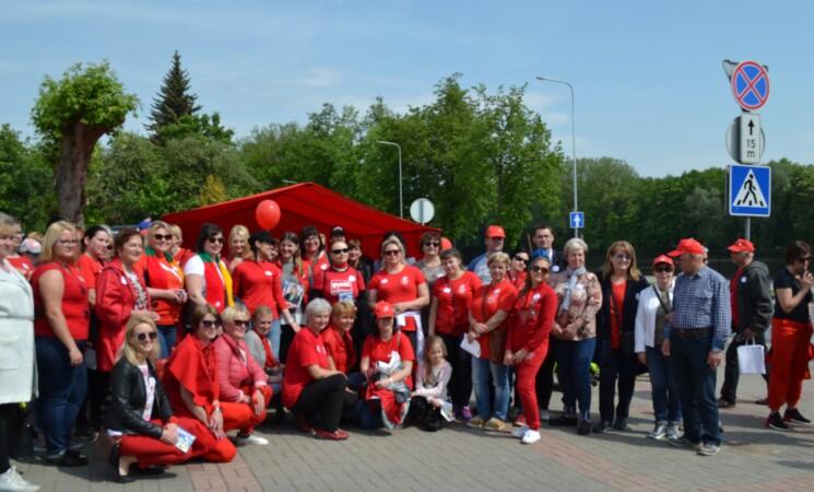 Moterų Ralyje  - 100 dalyvių