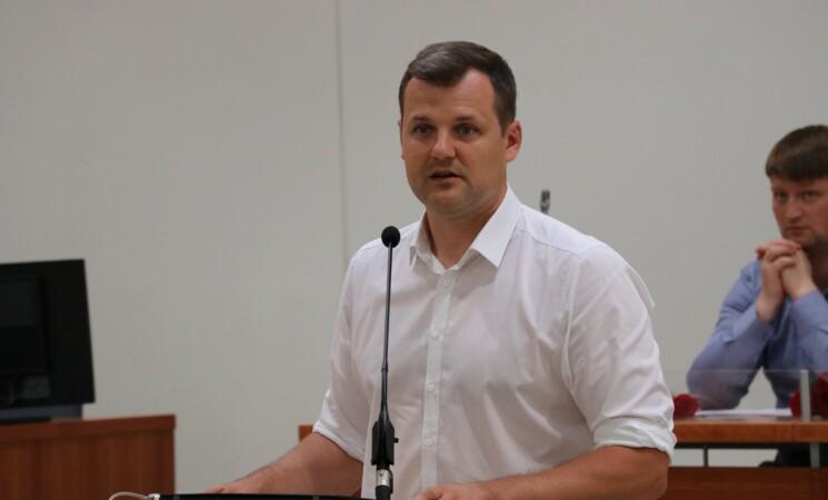 Seimo rinkimuose Vilniaus Žirmūnų rinkimų apygardoje kandidatu iškeltas Gintautas Paluckas