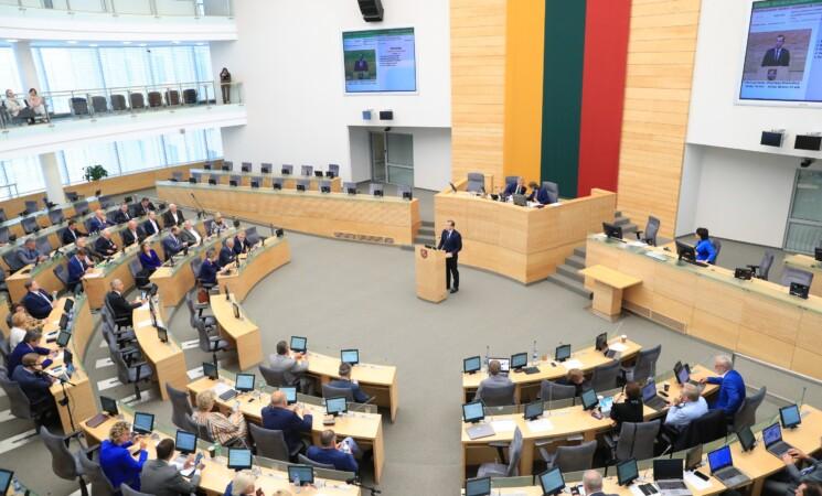 Socialdemokratai susitiko su V. Sinkevičiumi, jo kandidatūrai į eurokomisarus nepritaria