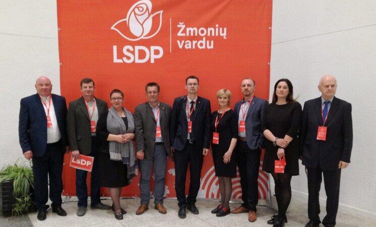 LSDP Šakių sk. prezidiumo posėdis