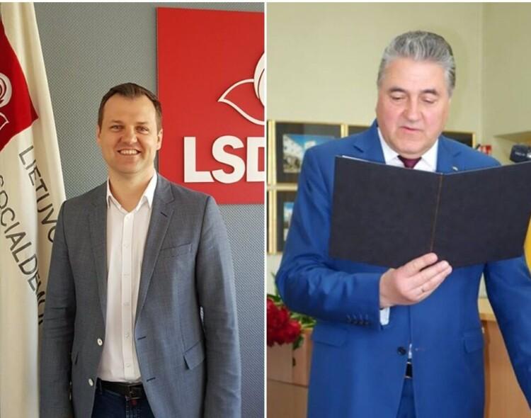 Antrajame Seimo rinkimų ture – G. Paluckas ir L. Jonaitis