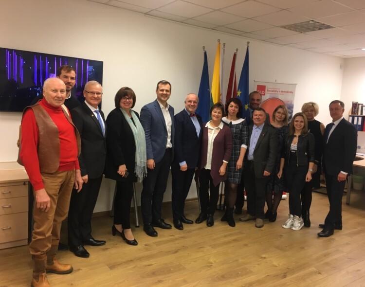 Vilniuje atidarytas Europos Parlamento nario Juozo Oleko biuras