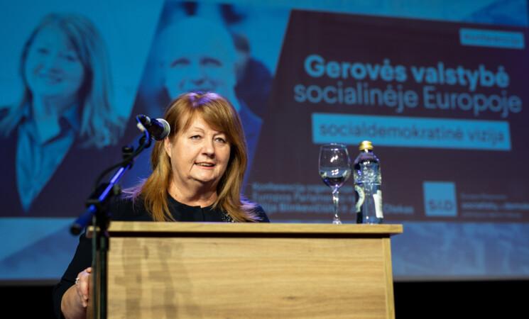 V. Blinkevičiūtė: minimali alga Europoje – ne mažiau 60 proc. vidutinio šalies atlyginimo