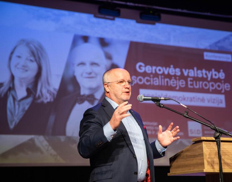 J. Olekas: Europą yra apėmusios keturios krizės, veši nelygybė
