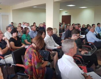 LSDP Varėnos skyriaus visuotinis susirinkimas