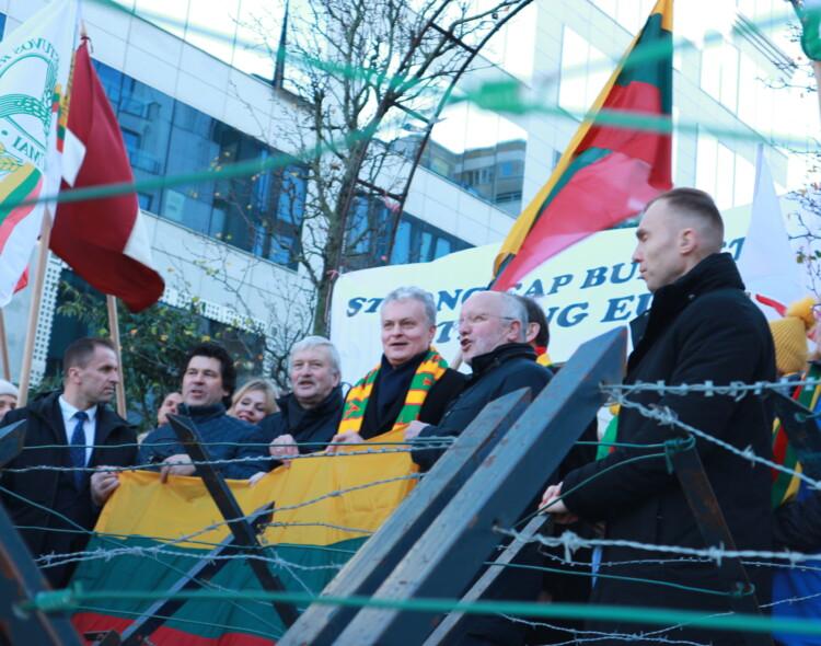 J. Olekas apie Briuselyje protestuojančius žemdirbius: tai – aiški žinutė prezidentui