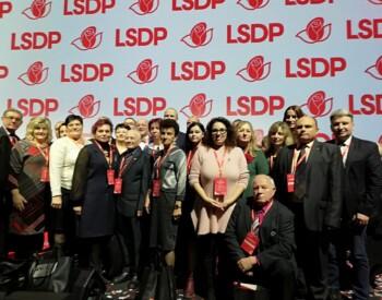 LSDP Vilkaviškio sk. konferencija