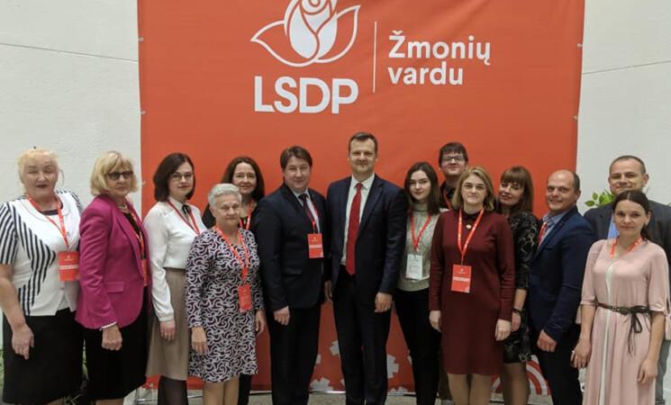 LSDP Akmenės skyriaus konferencija