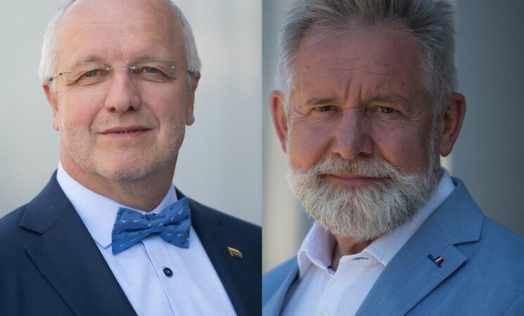 J. Olekas, A. Sysas. Valstybės parama turi būti vienoda visiems ir pasiekti gyventojus laiku