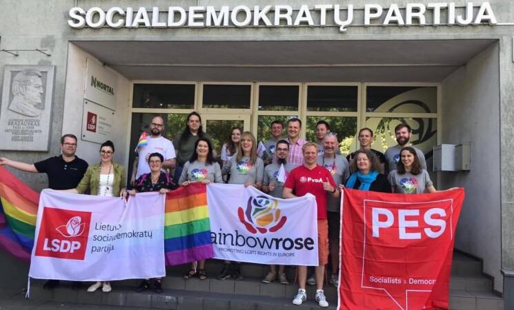 Atsinaujinusių socialdemokratų kandidatai su LGBT+ bendruomene ne tik pažadais, bet ir veiksmais