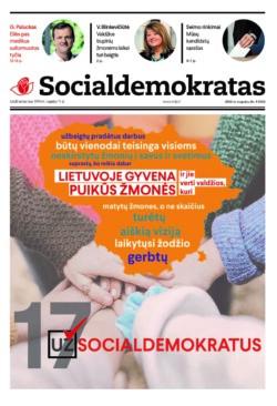 """Naujausias leidinio """"Socialdemokratas"""" numeris"""