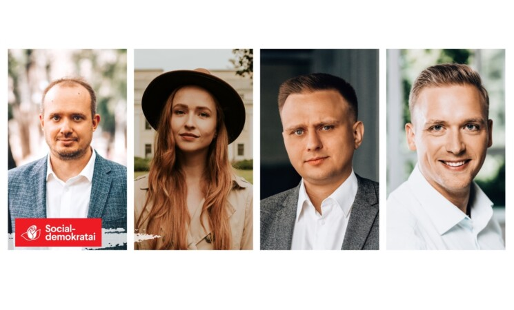 V. Baranovė,  R. Duchnevič, L. Gudžinskas, L. Šedvydis. Rytoj mūsų bus daugiau!