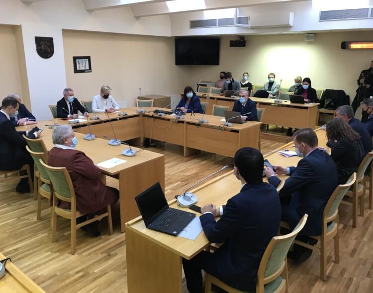 Socialdemokratų frakcija susitiko su kandidate į premjeres I. Šimonyte