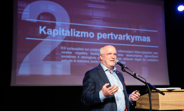 Kandidato į LSDP pirmininkus Juozo Oleko manifestas