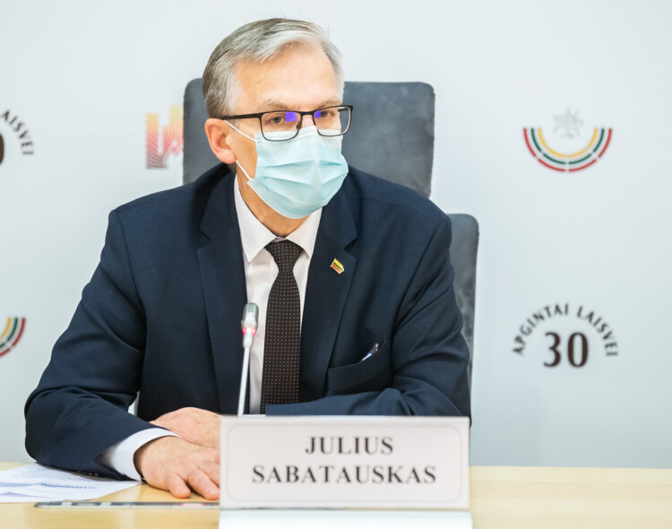 J. Sabatauskas kreipėsi į I. Šimonytę: dėl rekordinio mirčių kiekio ragina atlikti tyrimą