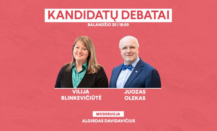 Penktadienį – finaliniai kandidatų į Socialdemokratų partijos pirmininkus debatai