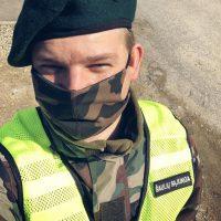 Tomas Katkus, kartu su Šauliais, patruliuoja gatvėse
